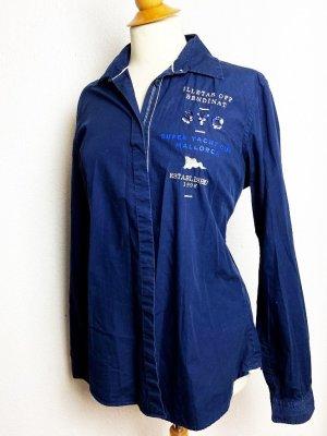 Gaastra Cols de blouses bleu foncé