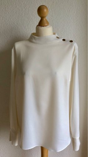 Bluse in creme
