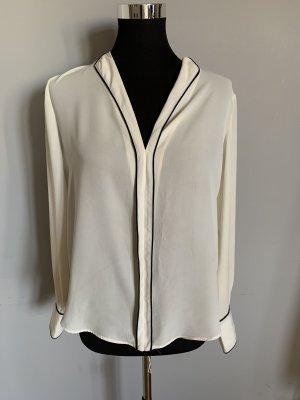 Bluse in Creme von Zara, Größe 40 wie neu
