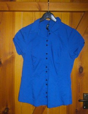 Bluse in der Farbe Blau * Figurbetont * Größe S