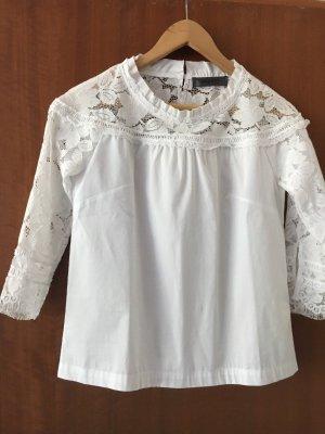 Bluse in der Größe S in weiß