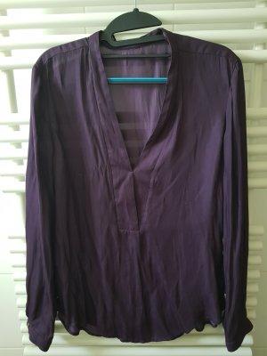 Esprit Blusa brillante viola scuro