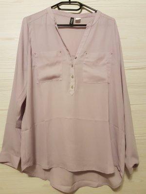 Bluse in fliederfarben von H&M