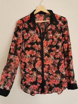 Bluse in Floral design