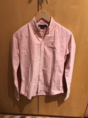 Bluse in Gr.XXS/32/2 von Ralph Lauren in rosa.