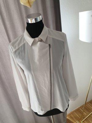 Edc Esprit Transparent Blouse white-cream
