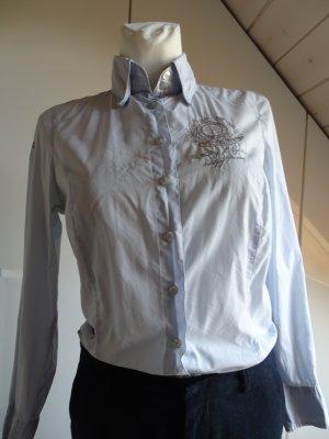 L'Argentina Shirt Blouse azure cotton