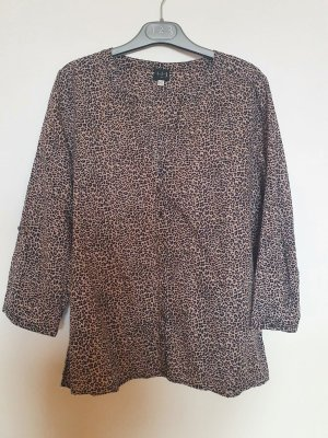 Bluse in Leopardenmuster