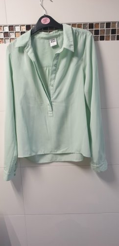 Bluse in Mint