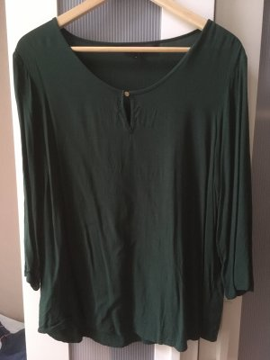 Bluse in moosgrün