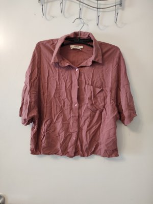 Bluse in rosa