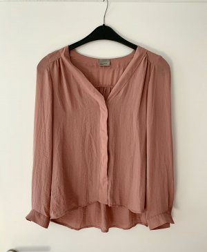 Bluse in Rosé