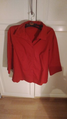 Street One Blouse Collar red
