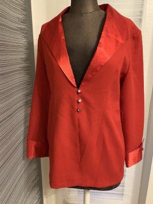 Bluse in rot Gr 44 46 XXL