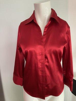Zero Kołnierzyk koszulowy czerwony