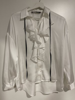 Bluse in Seidenoptik Gr. S