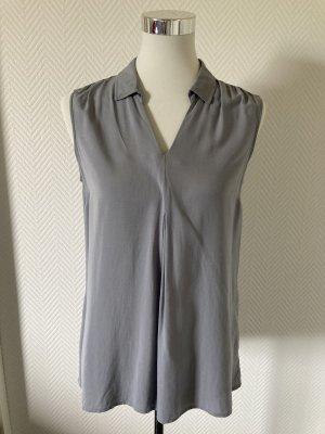 Betty & Co Sleeveless Blouse slate-gray