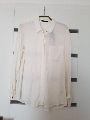 Zero Collection Kołnierzyk koszulowy biały