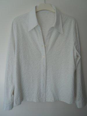 Gerry Weber Long Sleeve Blouse white cotton