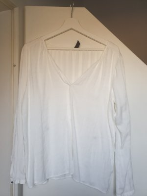 Anastacia by s.Oliver Long Sleeve Blouse white viscose