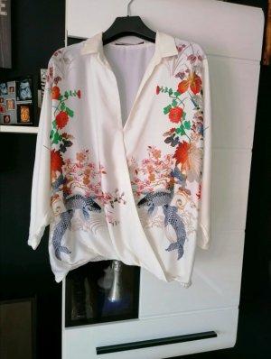 Bluse in Wickel Optik von Zara, Größe S