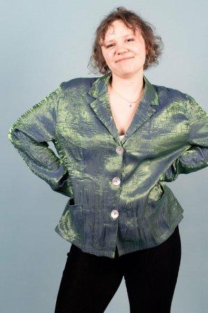 Celebrity Blouse met lange mouwen groen
