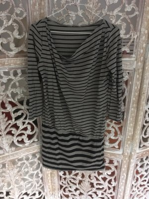 Intimissimi Long Blouse light grey-black cotton