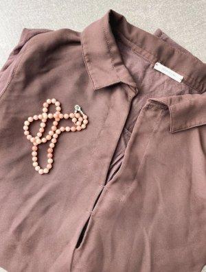 Intimissimi Camicetta a maniche lunghe marrone scuro-bronzo Modal