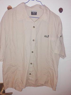 Jack Wolfskin Shirt Blouse oatmeal
