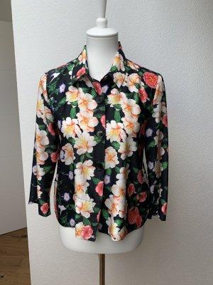 Bluse/ Jacke Hallhuber 38 Blumen