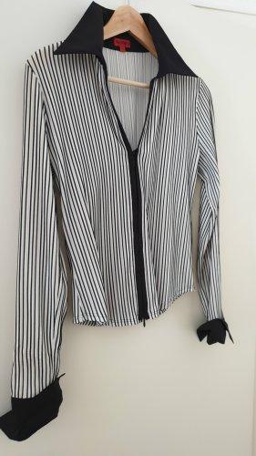 Nadine H. Long Sleeve Blouse white-black polyamide