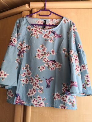 Jean Pascale Ruffled Blouse multicolored polyester