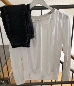 Bluse + Jeans