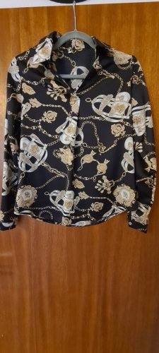 Bluse kettenmuster