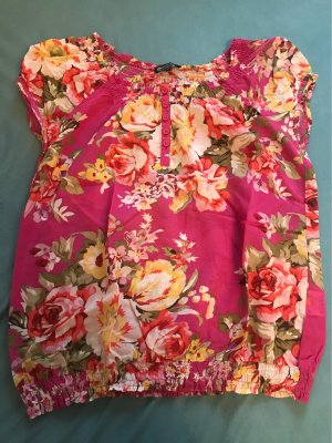 Cecilia Classics Short Sleeved Blouse pink