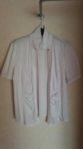 Bonita Camicetta a maniche corte bianco Cotone