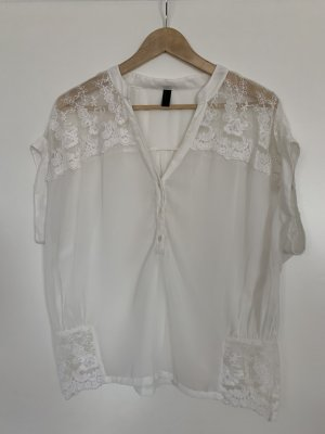 Vero Moda Lace Blouse white-natural white