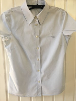 Campus by Marc O'Polo Blouse met korte mouwen azuur
