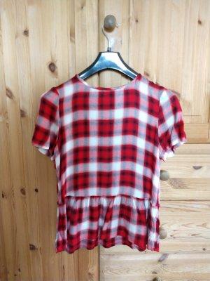 Bluse Kurzarmbluse Oberteil Shirt Sommerbluse EDC NEU