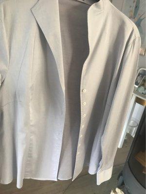 Franco Callegari Blusa de cuello alto gris claro