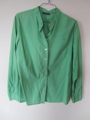 Bluse Langarm grün Casual