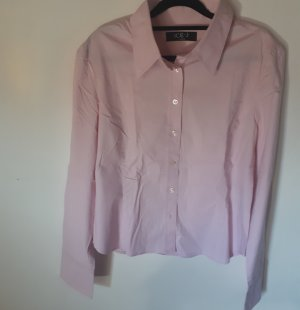 Bluse Langarm Hemd Pink Rosa Iceberg Top-Zustand  Applikation