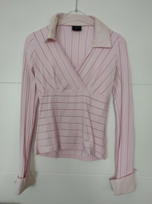 Orsay Stand-Up Collar Blouse pink polyamide