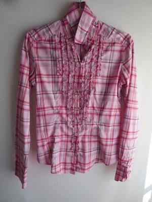 van Laack Long Sleeve Blouse pink-pink cotton