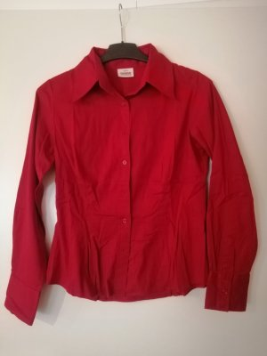 Colours of the World Long Sleeve Blouse red