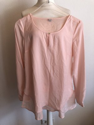 s.Oliver Long Sleeve Blouse apricot-light pink