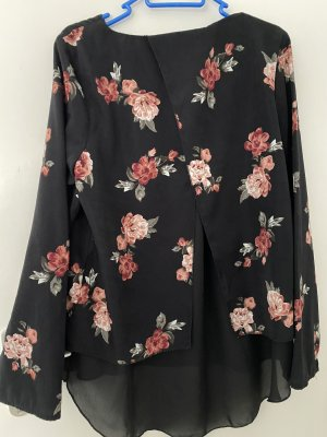 Collection L Long Sleeve Blouse black polyester