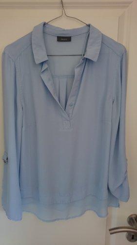 Bluse leicht und fließend  hellblau -Gr. 42