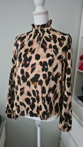 Zara Blusa in seta multicolore
