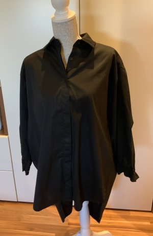 Bluse Longbluse Damen onesize M/L schwarz